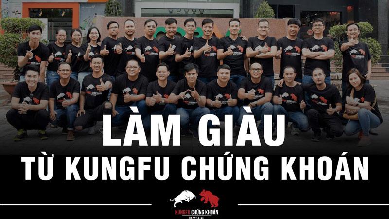 LÀM GIÀU và kiếm tiền từ Kungfu Chứng khoán