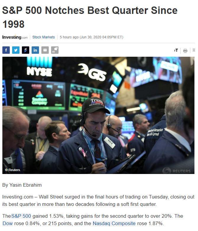 Điểm tin tài chính ngày 1/7/2020