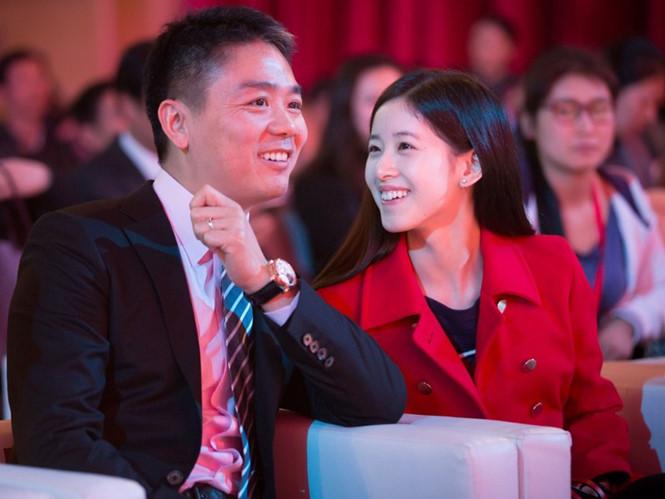 Richard Liu và vợ