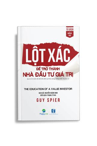 Sách Lột xác để trở thành nhà đầu tư giá trị