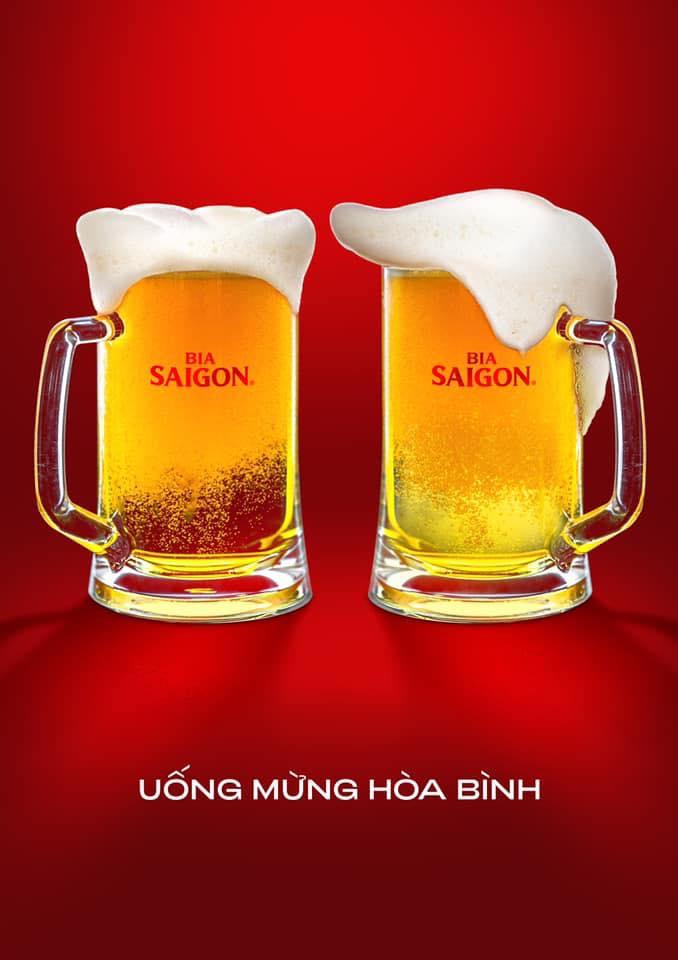 uống bia vì hòa bình