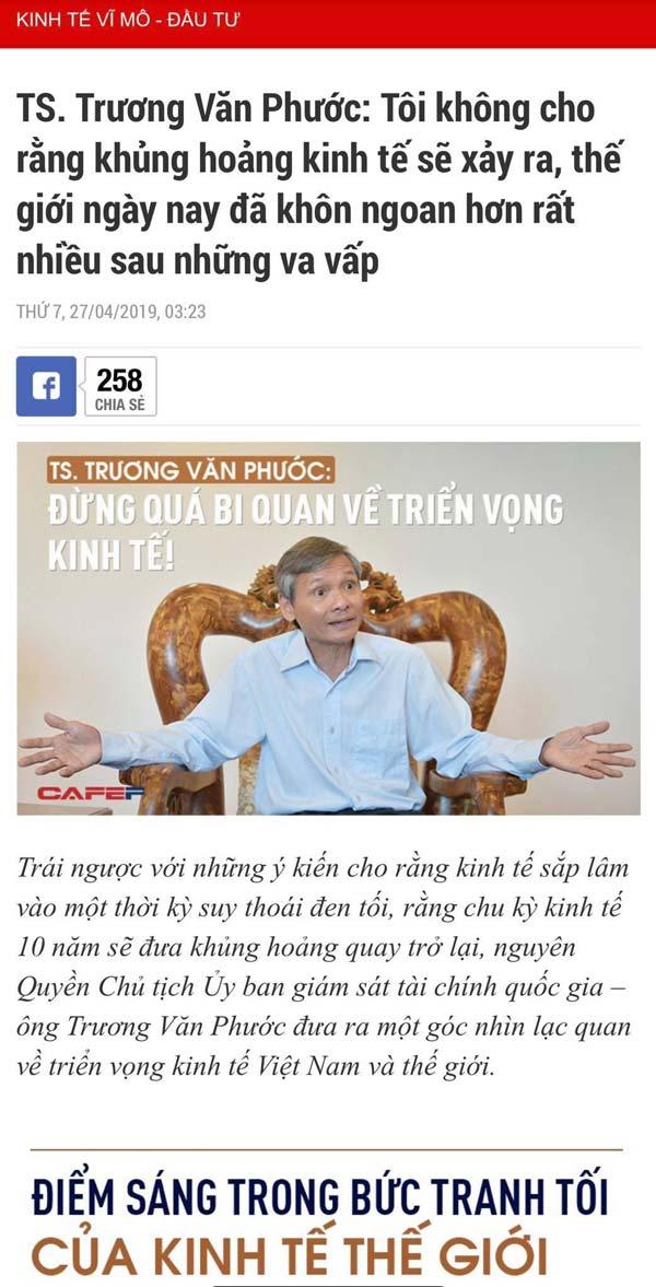 Tiến sĩ Trương Văn Phước