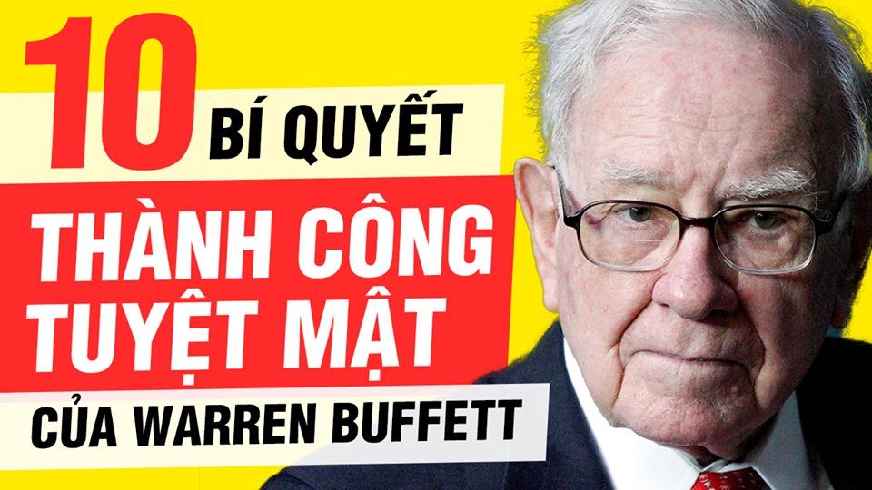 bí quyết thành công tuyệt mật của warren buffett