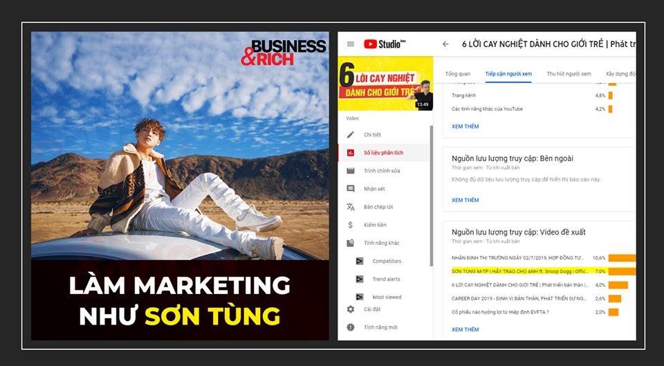 Sơn Tùng M-TP bậc thầy về marketing?