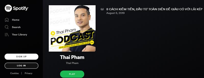 podcast Thái Phạm