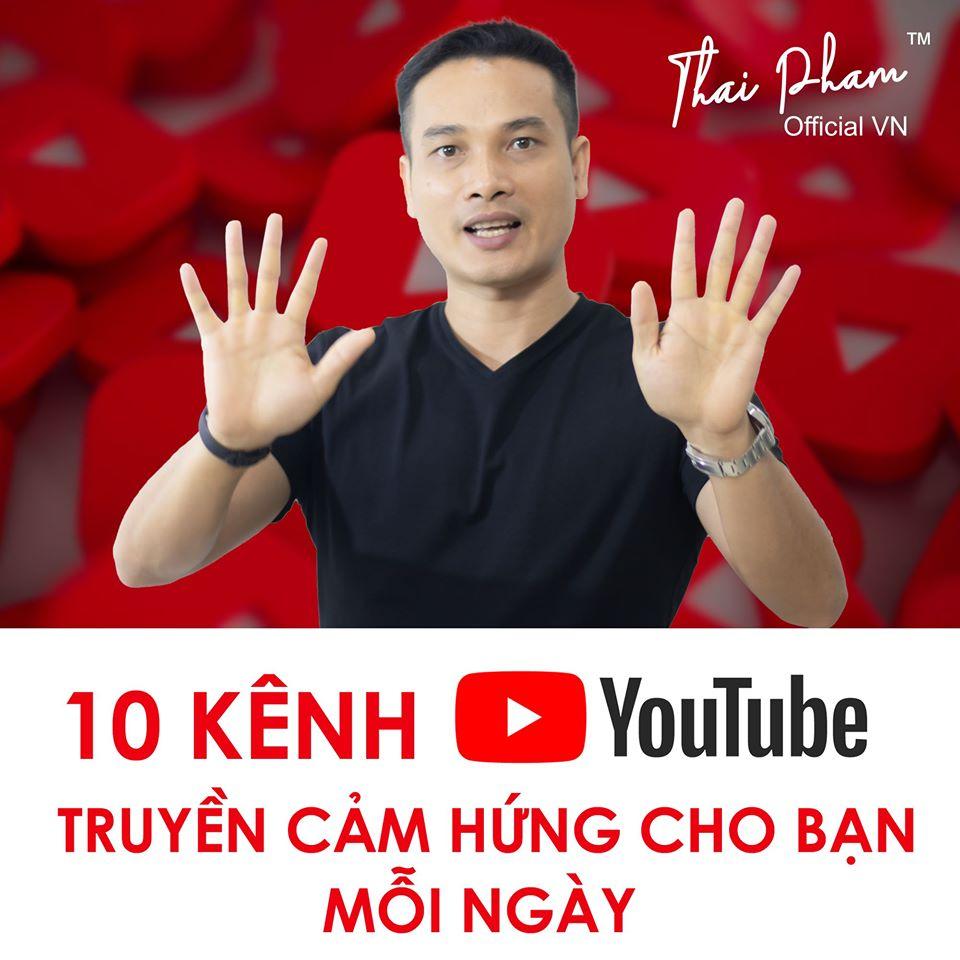 TOP 10 KÊNH YOUTUBE TRUYỀN CẢM HỨNG CHO BẠN MỖI NGÀY