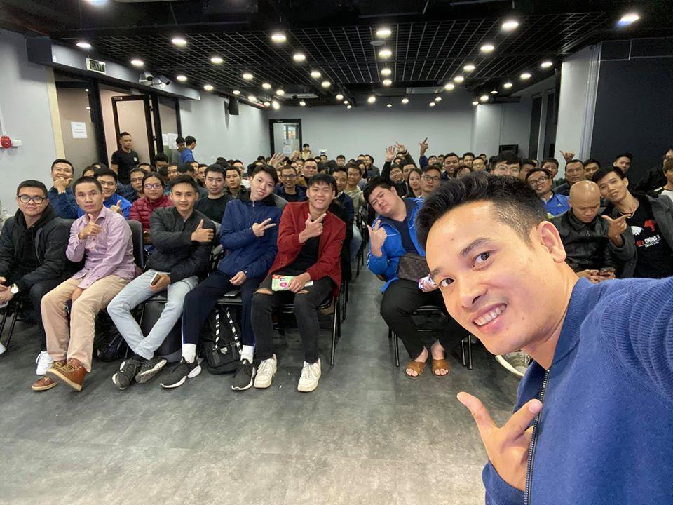 Đã sẵn sàng cháy cùng anh em cộng đồng Happy Live trong Meetup cuối cùng của năm 2019 tại Hà Nội