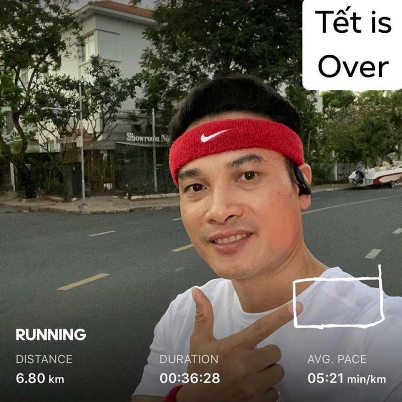 """Khai """"chân"""" road running số đẹp lộc phát 6.8km đầu năm xem sao"""