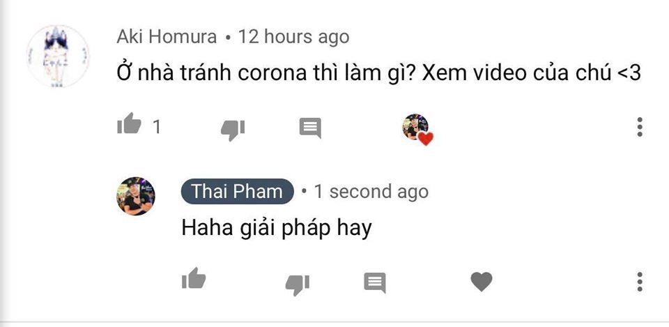 Bạn trẻ có giải pháp mùa Corona (Look on the bright side - View Tích cực) Just for fun - Vui chút! #ThaiPham #Youtubecomment