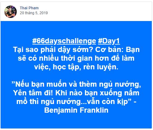 Gải chạy cộng đồng chiến binh 66 ngày thử thách