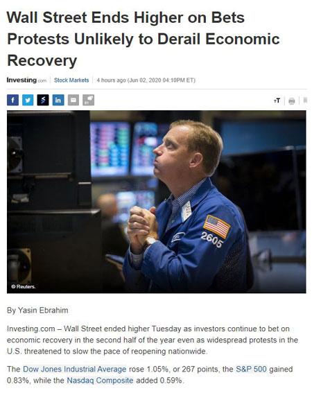 Điểm tin tài chính ngày 3/6/2020
