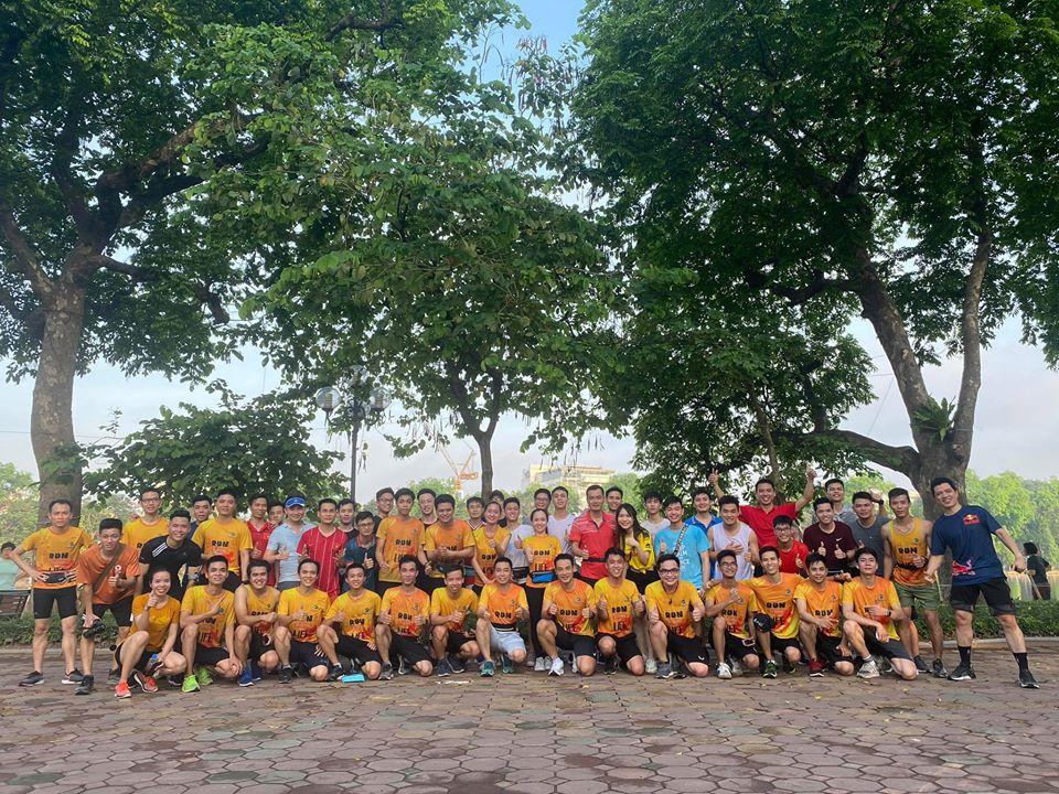 Cùng nhuộm vàng Hồ Gươm - Hà Nội và Sài Gòn với team chiến binh#6x66ngaythuthachmỗi cuối tuần anh em nhé!