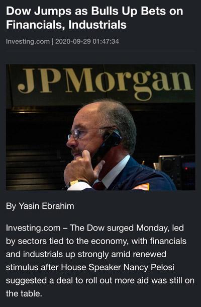Điểm tin tài chính ngày 29/9/2020