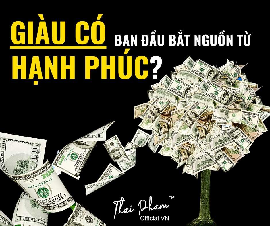 """Từ """"giàu có"""" ban đầu bắt nguồn từ """"hạnh phúc""""?"""