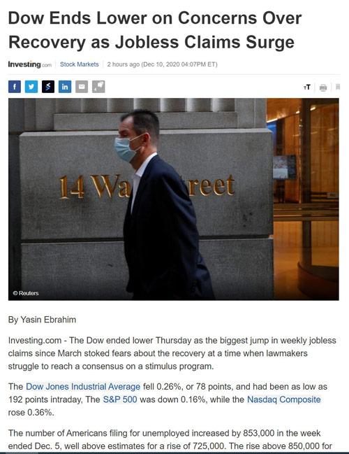 Điểm tin tài chính ngày 11/12/2020