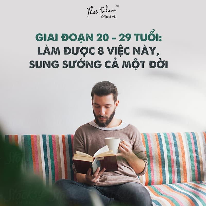 GIAI ĐOẠN 20-29 TUỔI: LÀM ĐƯỢC 8 VIỆC, SUNG SƯỚNG CẢ ĐỜI