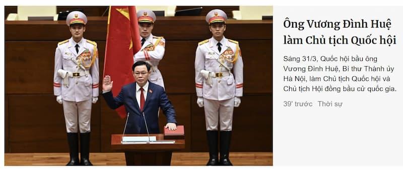 Chúc mừng cho Việt Nam