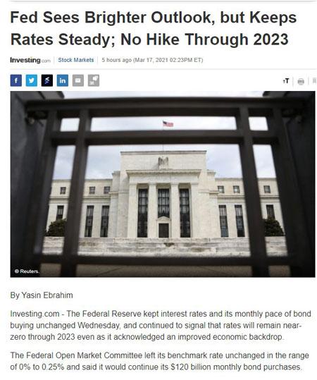 Điểm tin tài chính ngày 18/3/2021