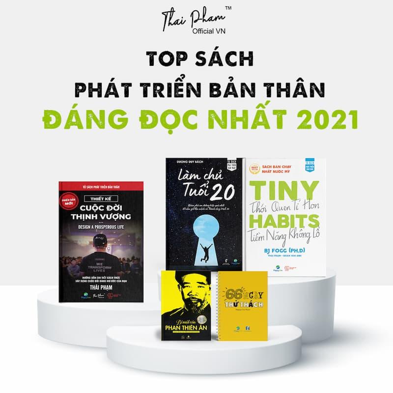 TOP SÁCH PHÁT TRIỂN BẢN THÂN ĐÁNG ĐỌC NHẤT 2021