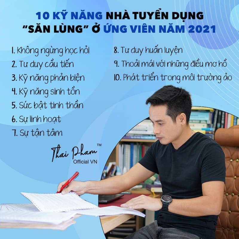 10 KỸ NĂNG QUAN TRỌNG CHO MỌI CUỘC PHỎNG VẤN
