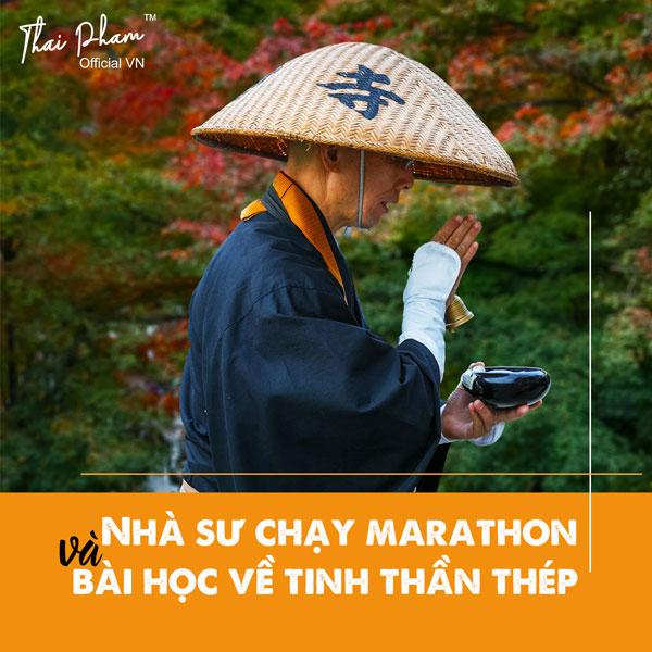 Nhà sư chạy marathon và bài học về tinh thần thép
